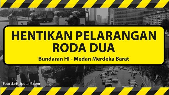 Petisi Hentikan Pelanggaran Roda Dua