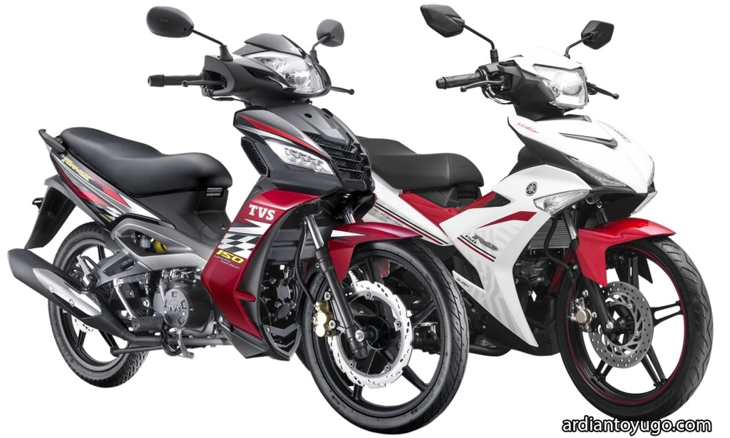 TVS Tormax VS Jupiter MX King