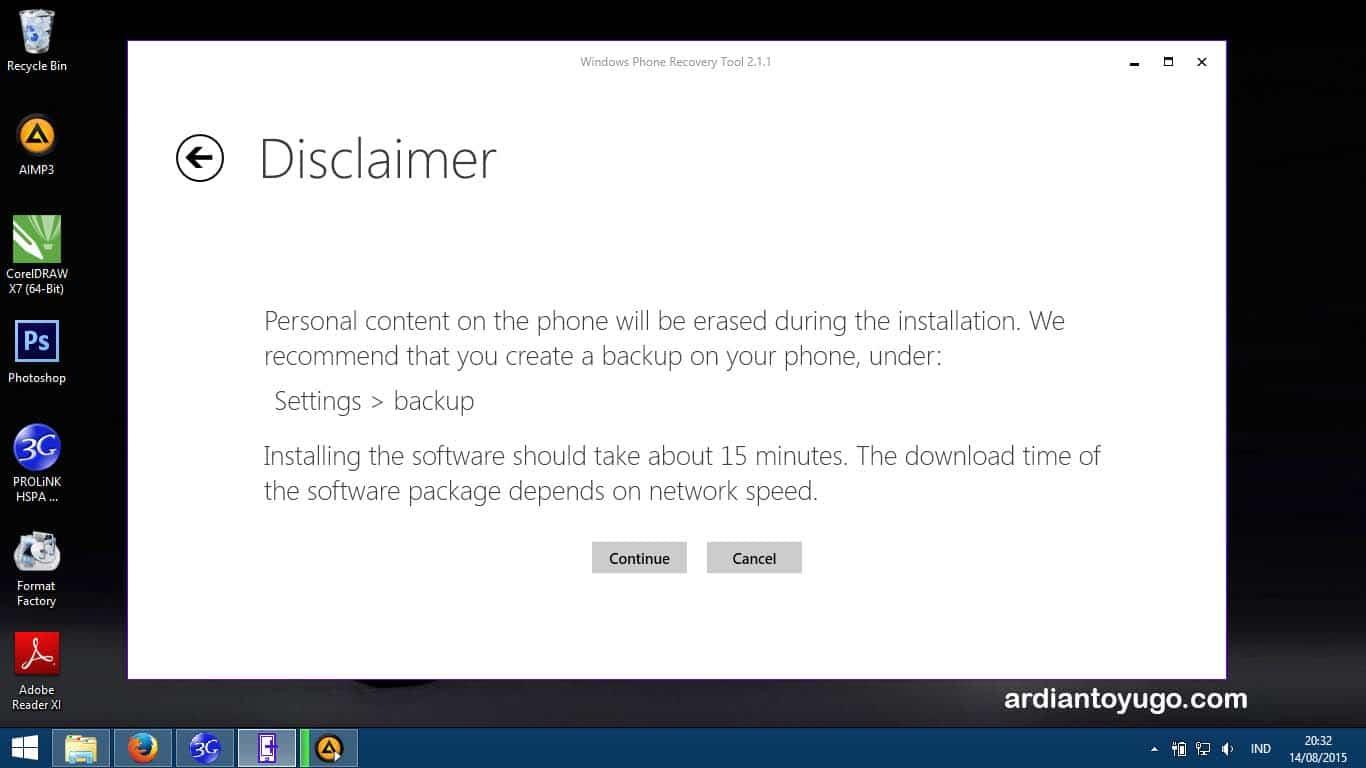 Cara instal ulang windows 7 tanpa cd driver