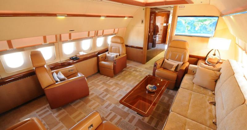 VVIP cabin... :cool: