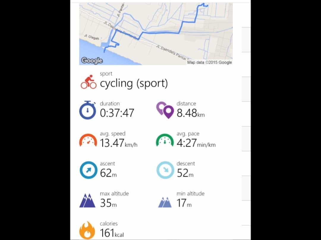 aplikasi untuk pesepeda