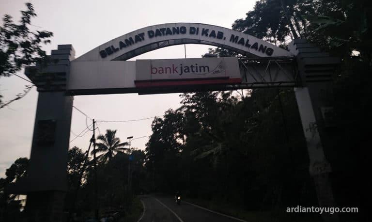 Perbatasan Lumajang - Malang