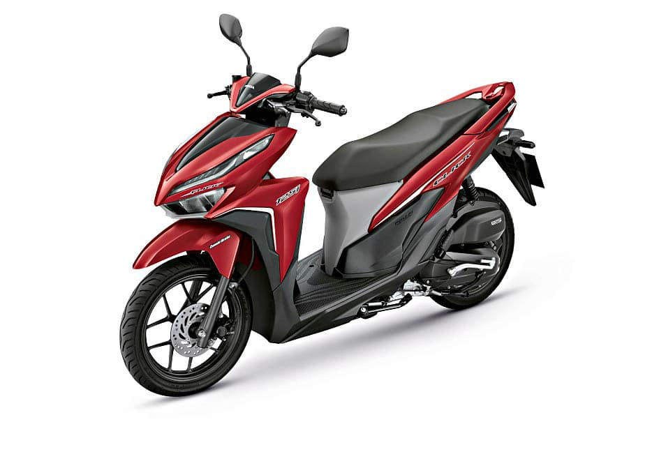 honda click 150i red